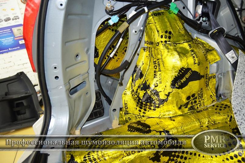 Шумоизоляция Honda CRV, изображение №13
