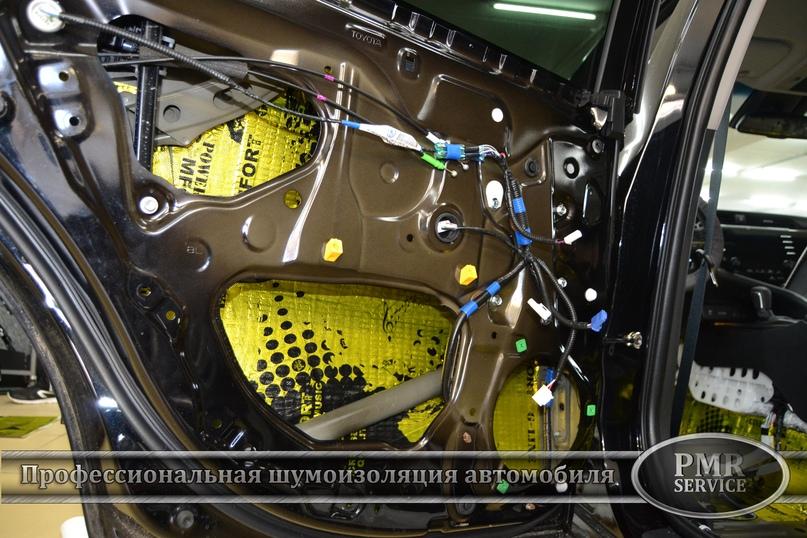Комплексная шумоизоляция Toyota Camry, изображение №16