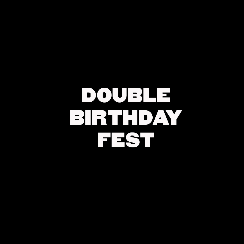 Афиша Нижний Новгород Double Birthday Fest 2019