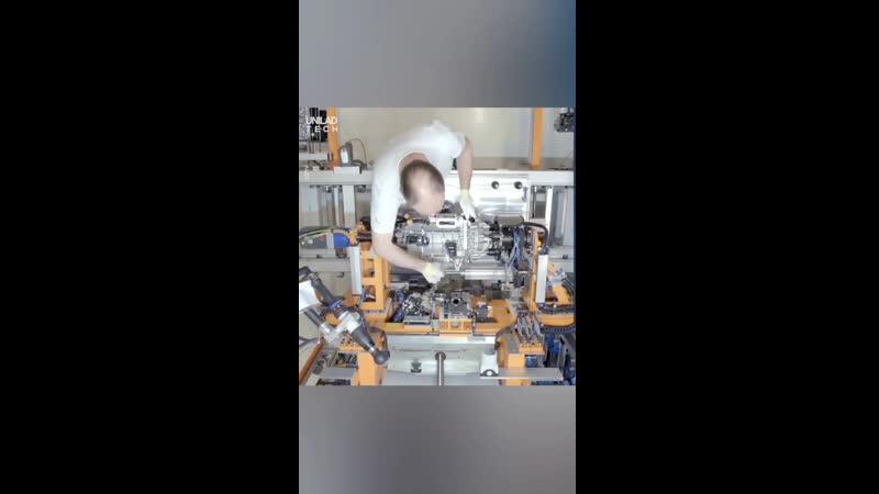 Автоматизированное производство электродвигателей