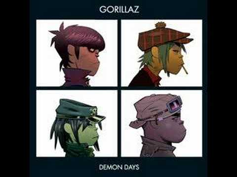 Gorillaz Fire Coming Out of the Monkey's Head