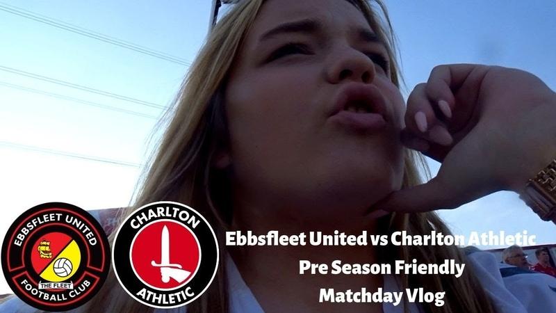 Disappointing Result Ebbsfleet United vs Charlton Athletic PSF Matchday VLOG