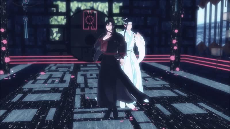 Mo Dao Zu Shi танцы MMD - DDU-DU DDU-DU ( BLACKPINK / 블랙핑크) - Вэй У Сянь, Лань Ван Цзи / Магистр дьявольского культа DANCE