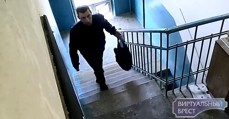 Разыскивается мужчина, который ходит по квартирам в Бресте и проверяет, не заперты ли двери