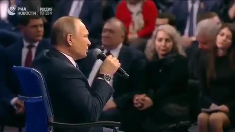 Путинисты,бараны вы безмозглые,вы уже ощутили рывок Путина.mp4