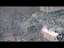 Полиция разгоняет протестующих против повышения цен на топливо во Франции