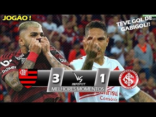 SEGUE O LÍDER ! Flamengo 3 x 1 Internacional - Melhores Momentos (COMPLETO) - Brasileirão 2019