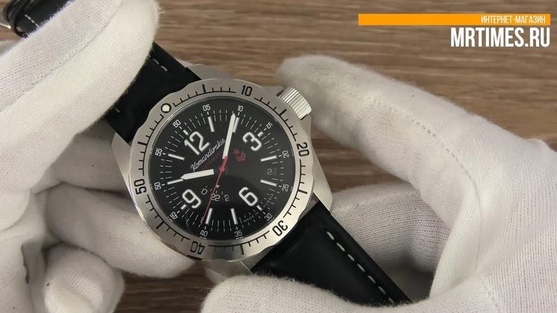Восток Командирские К39 390637 Обзор Командирских часов с автоподзаводомот