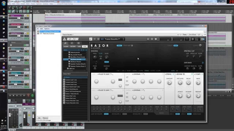 Make a bouncy pulse synth in REAPER (vital for dance, electronic, dubstep, etc...)