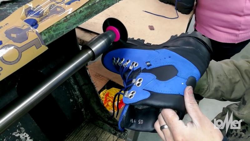 LOMER - Everest - Этапы изготовления обуви