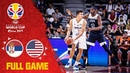 Serbia USA go head to head! - Full Game - FIBA Basketball World Cup 2019
