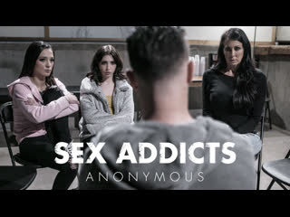 SEX ADDICTS ANONYMOUS/Jaye Summers, Jane Wilde, Reagan Foxx [PureTaboo]