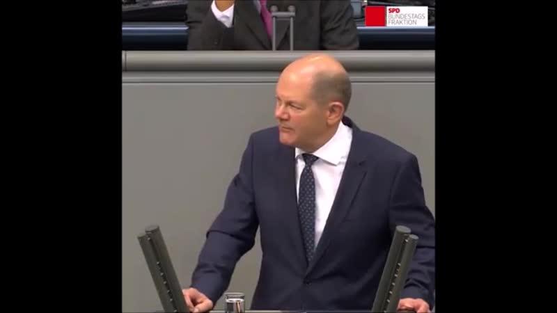 Olaf Scholz zur AfD Sie sind nicht nur kulturell ein Rxfcckschritt fxfcr dieses Land.