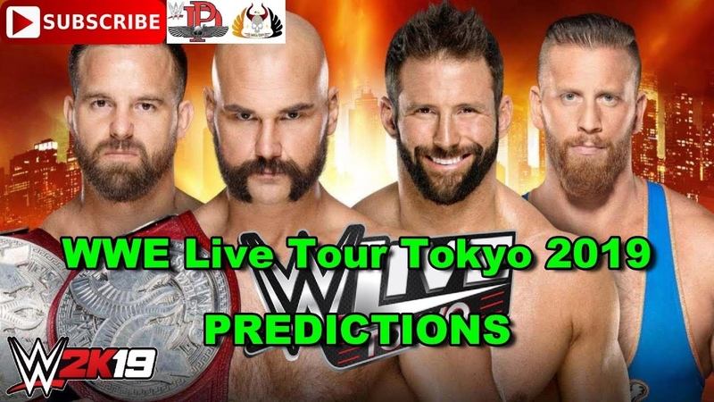 WWE Live Tour Tokyo Raw Tag Team Championship The Revival vs Zack Ryder Curt Hawkins Predictions
