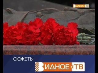 """""""Память вне времени"""" - митинг  на Аллее Славы"""