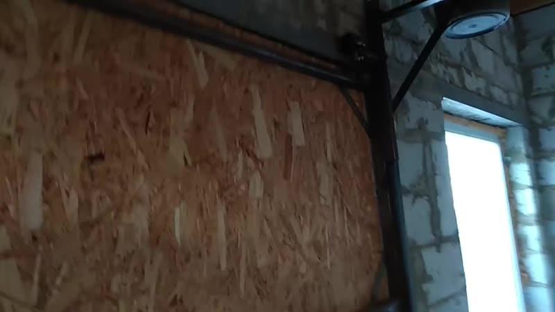 Видео Мои самодельные подъемные ворота на гараж Обзор. Vjb cfvjltkmyst gjl tvyst djhjnf yf ufhf ! J pjh