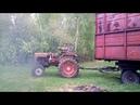 Тест драйв трактора дт-20 с 2птс 4, поршневая ямз