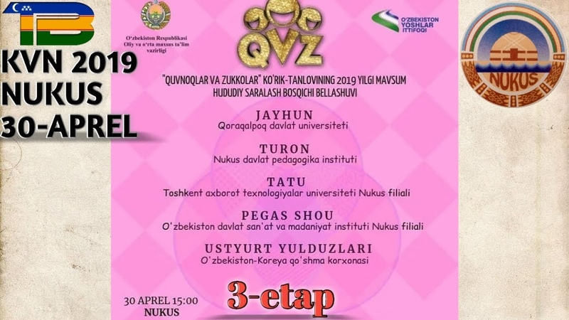 QvZ Nukus 30-aprel 3-etap