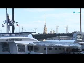 В Петербурге пришвартовался французский катамаран Energy Observer
