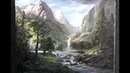 Painting Sunlit Mountain Pass Paint with Kevin Hill