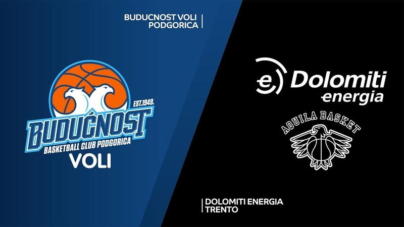 Buducnost VOLI Podgorica - Dolomiti Energia Trento Highlights   7DAYS EuroCup, RS Round 2