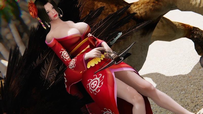 【Skyrim MMD R18】Sexy dance File 一心不乱