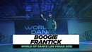 Boogie Frantick FRONTROW World of Dance Las Vegas 2018 WODVEGAS18