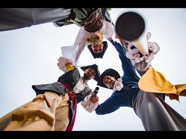 Ходулисты (Минск, Беларусь)| Пираты| Pirates| Stiltwalkers |ART-SHOW DISAR