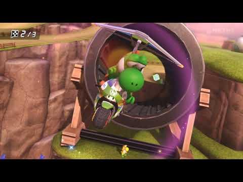 Mario Kart 8 карты Долина Йоши и Электродром