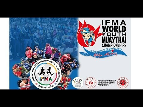 Youth World Muaythai Championships 2019, Day 4, Ring A