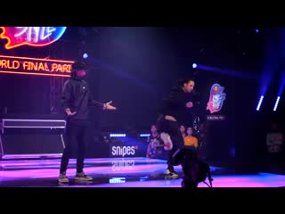 LES TWINS SALIF __.stance [4K] __ Red Bull Dance Your Style World Finals 2019