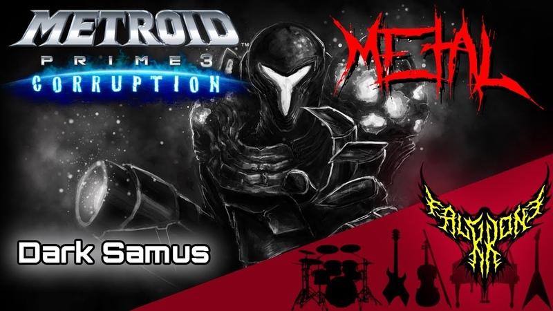 Metroid Prime 3 - Theme of Dark Samus 【Intense Symphonic Metal Cover】