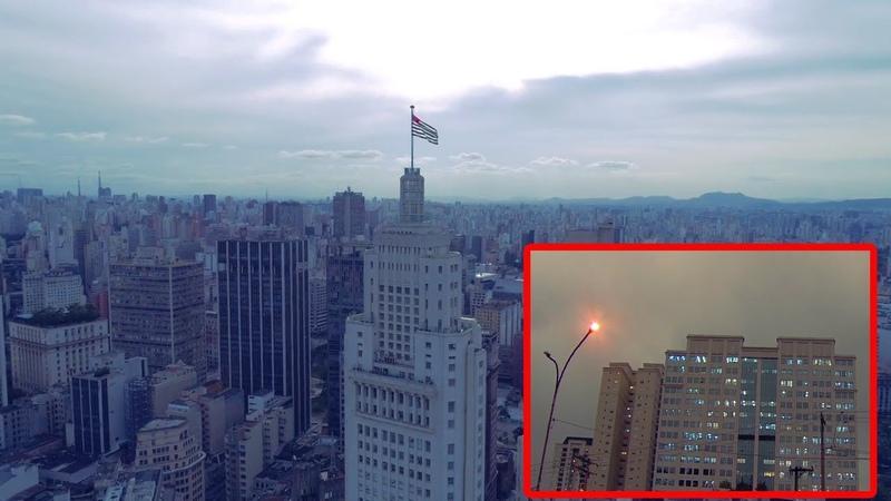 Alerta, DESAPARECE el SOL en Sao PAULO y Siberia