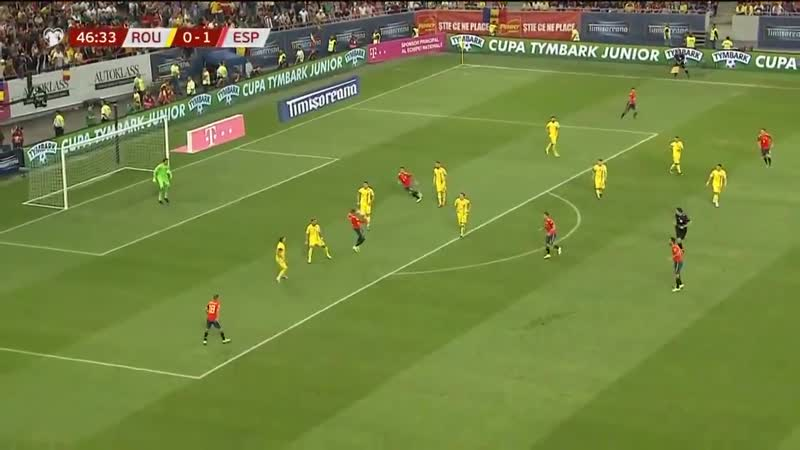 Ceballos was the star for Spain last night