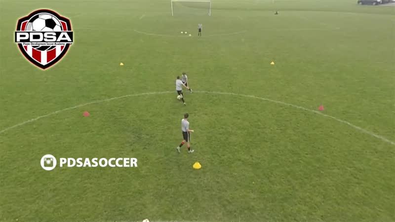 Endlessly 1v1 PDSA Soccer 1v1 soccer drills