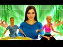 ToyFriendTV • Барби на йоге. Кен и Барби мультик из кукол - Toy Club шоу