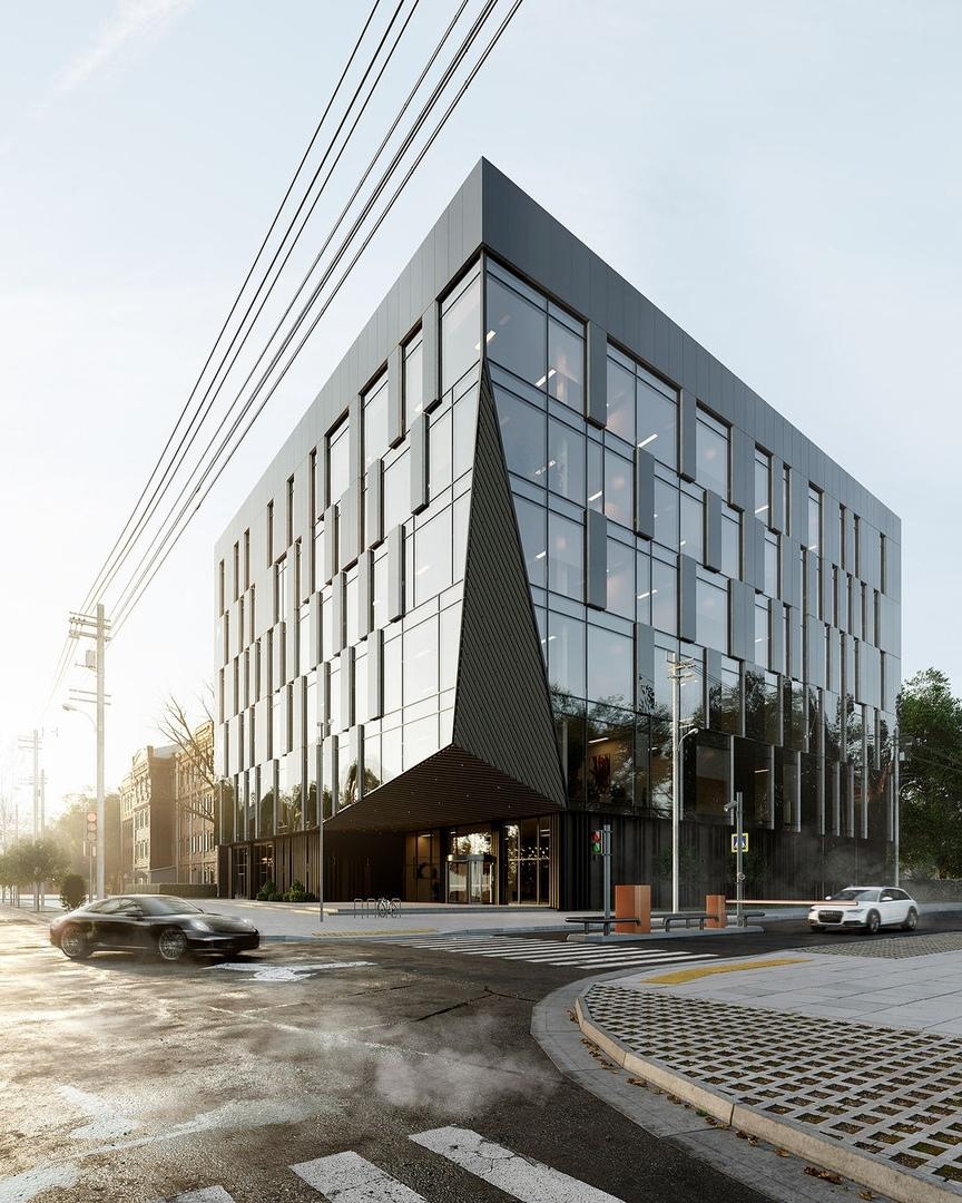 Office Center by BAK Studio in Khabarovsk