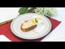 Svk/lakomkavk Йогуртовый кекс с жареными бананами и чёрный чай с барбарисом и апельсином
