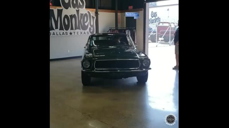 Gas Monkey Garage Mustang Bullitt