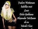 Lady Gaga Fashion Lyrics