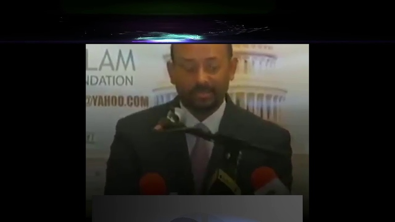 Etiyopya Başbakanının tarihi konuşması ingilize Zimbirli
