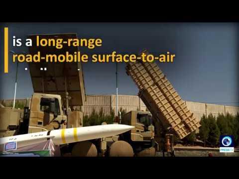 New long-ranged Iranian SAM system Bavar 373