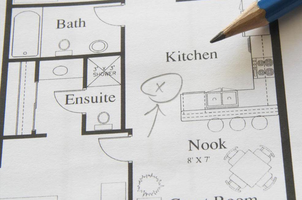 Модульная конструкция позволяет строителям изменять планы этажей в соответствии с предпочтениями владельца дома.