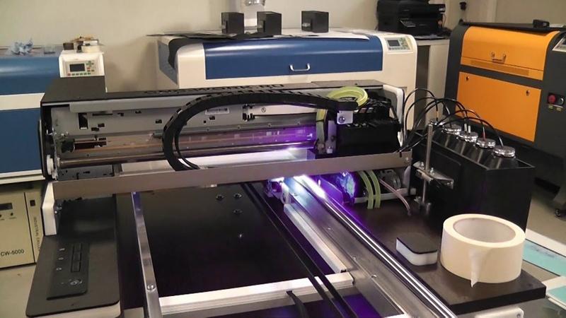 Запуск Нового УФ принтера, Упаковка и отправка клиенту.