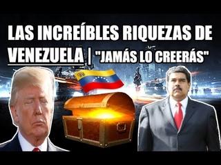 Las increíbles riquezas de Venezuela | Jamás lo creerás 😱🇻🇪 | El país más rico del mundo