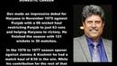 Indian Cricketer (Kapil Dev) Biography Detail