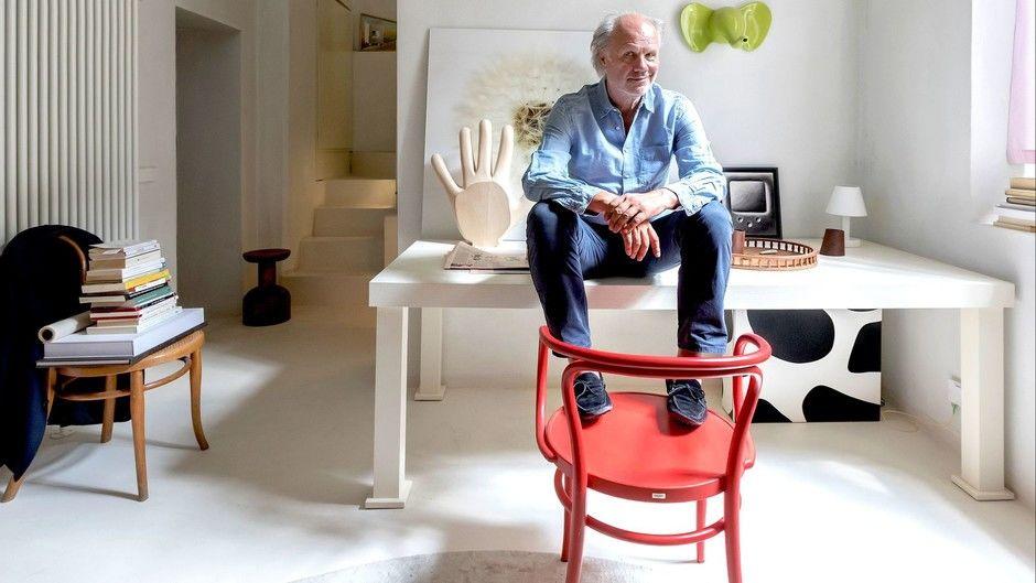 Лучше меньше да лучше: микроквартира дизайнера Альдо Чибика в Милане