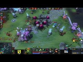 Forze vs team spirit, game 1