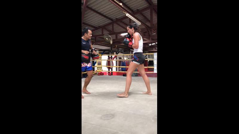 Персональная тренировка в Кингка муай тай Кру Ке