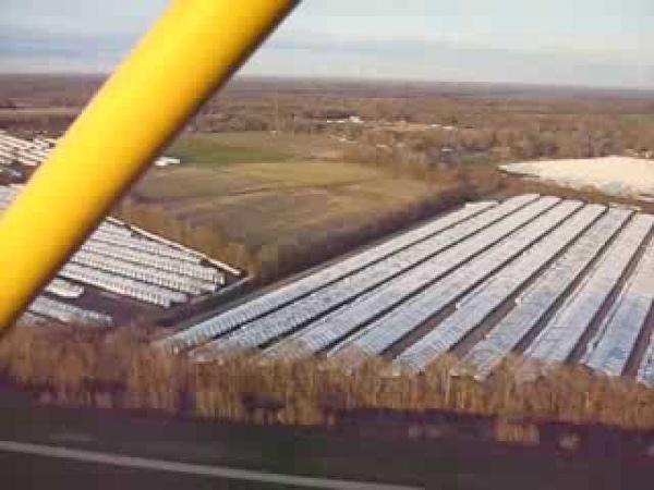 Flying over FEMA site